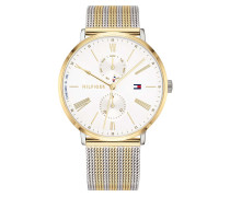 Uhr Multifunctional Watch Dressed Up 1782074 Silver/Gold