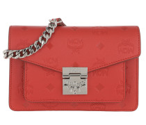 Gürteltasche Patricia Monogrammed Leather Belt Bag Xmini Viva Red