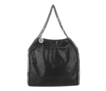 Falabella Shaggy Deer Small Tote Black Tote