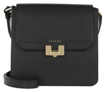 Umhängetasche Tilda Tablet Mini Black/Black Lavagna/Gold