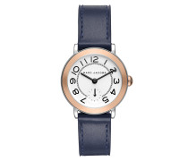 Uhr MJ1602 Riley Classic Watch Silver blau