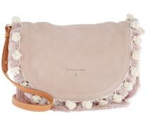 Fringed Crossbody Bag Butterfly Rose Tasche