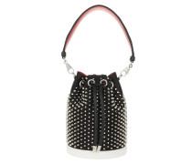 Beuteltasche Marie Jane Bucket Bag Leather Black/Silver schwarz