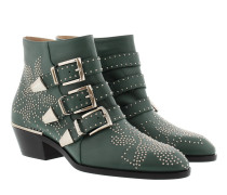 Susanna Nappa Boots Jasper Green Schuhe