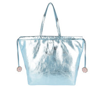 Grinza Sienna Handbag Light Blue Shopper