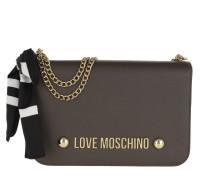 Love Scarf Shoulder Bag Taupe Satchel Bag