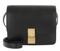 Umhängetasche Classic Bag Box Small Leather Black schwarz