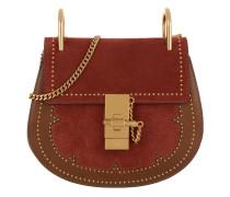 Mini Drew Crossbody Bag Cognac Tasche rot