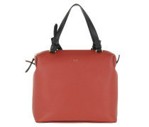 Small Soft Cube Bag Smooth Calfskin Claycourt Tasche