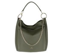 Bahar Bucket Bag Olive Green Beuteltasche