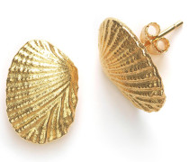 Ohrringe Shell Earrings Gold
