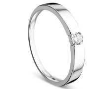 Ring 0.13ct Diamond Solitaire 14KT White Gold
