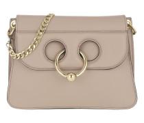 Pierce Shoulder Bag Leather Ash Satchel Bag