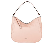 Hobo Bag Calf Adria Hobo Bag Rosa rosa