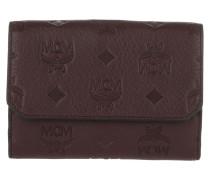 Klara Leather Fold Medium Wallet Rustic Brown