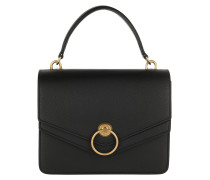 Satchel Bag Harlow Satchel Bag Leather Black schwarz