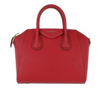 Antigona Small Tote Bright Red Satchel Bag