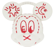 Tote 3D Mickey Mouse Top Handle Bag White weiß