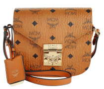 Patricia Visetos Shoulder Bag Mini Cognac braun