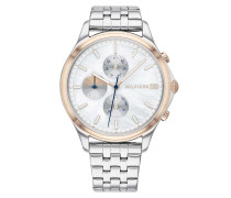 Uhr Multifunctional Watch Casual 1782122 Silver