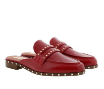 Rockstud Soul Mules Red Schuhe