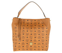 Hobo Bag Klara Visetos Hobo Large Cognac cognac