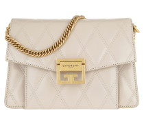 Umhängetasche Small GV3 Bag Diamond Quilted Leather Natural beige