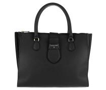 Locked Handle Bag Nero\Camelia Rose Tote