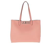 Shopper Uptown Chic Barcelona Tote Bag Peach