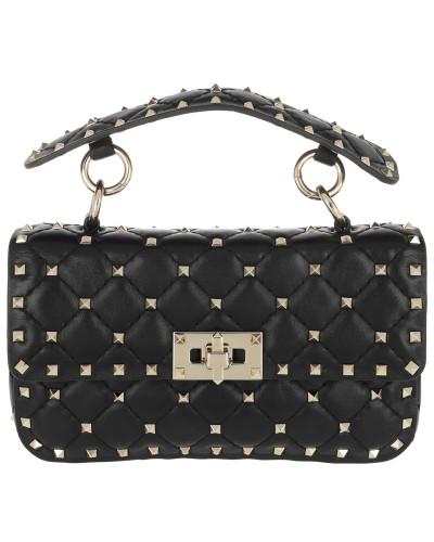 Freies Verschiffen Sast Billig Verkauf Footlocker Valentino Damen Rockstud Spike Crossbody Bag Small Nero Tasche UXmK2TyY