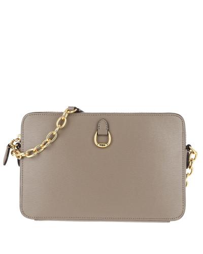 Ralph Lauren Damen Bennington Crossbody Bag Saffiano Taupe Tasche Günstig Kaufen Neueste Exklusiv Zum Verkauf EqPj6iR