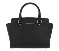Selma MD TZ Satchel Bag Black Satchel Bag