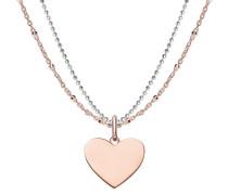 Halskette Love Bridge Necklace Rosegold