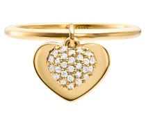 Schmuck MKC1121AN710 Love Heart Duo Ring Gold gold
