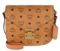 Patricia Studded Visetos Shoulder Small  Tasche