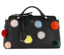 By The Way Bag With Pompon Black Tote