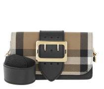 Buckle Crossbody Bag Black Tasche beige