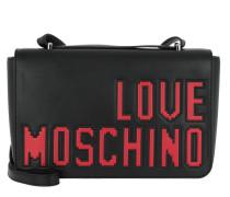 Shoulder Satchel Bag Nero Umhängetasche