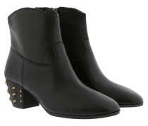 Single Sole Avery Ankle Boot Black Schuhe