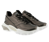 Sneakers Bounce Metallic Low-Top Sneaker Silver
