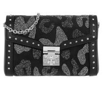ME Leo Small Flap Crossbody Bag Chain Black Tasche