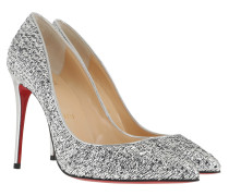 Pigalle Follies 100 Slingback Pumps Silver Pumps