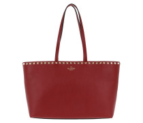 Rockstud Small Tote Red Tote