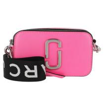 Umhängetasche Fluorescent Snapshot Camera Bag Small Bright Pink pink