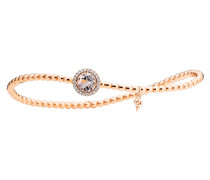 Schmuck Bracelet Espressivo Morganite Faceted Rosegold roségold