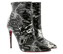 Boots So Kate Booty Patent Nicograf 100 Black/White schwarz