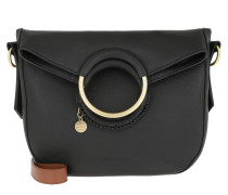 Tote Hana Shoulder Bag Leather Black schwarz