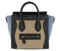 Nano Luggage Crossbody Bag Medium Blue Tasche