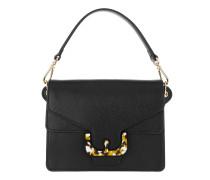 Ambrine Graphic Shoulder Bag Noir Satchel Bag