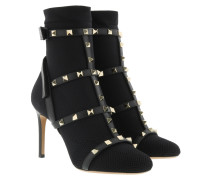 Rockstud Sock Bootie Nero Schuhe